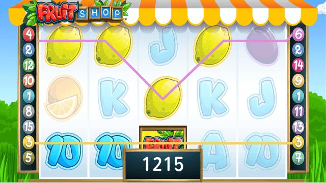 Игровой интерфейс Fruit Shop 9