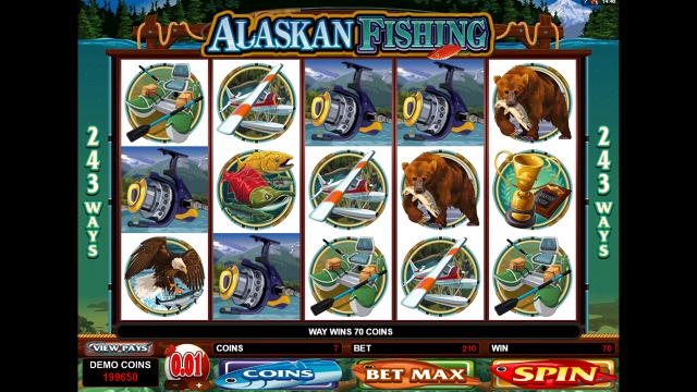 Характеристики слота Alaskan Fishing 9
