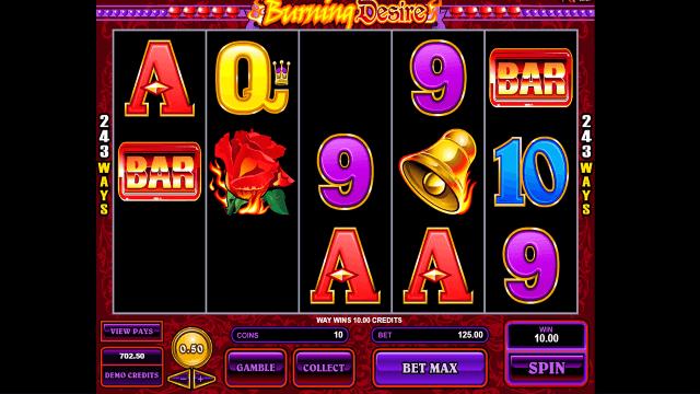 Бонусная игра Burning Desire 4