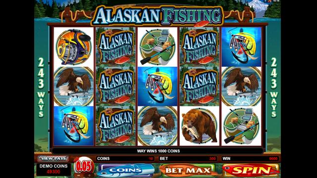 Бонусная игра Alaskan Fishing 7