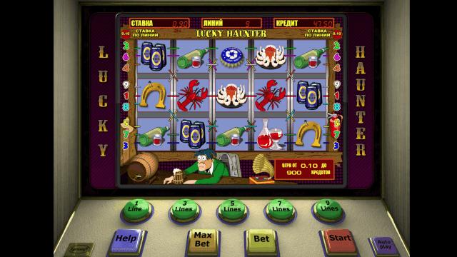 Игровой интерфейс Lucky Haunter 9