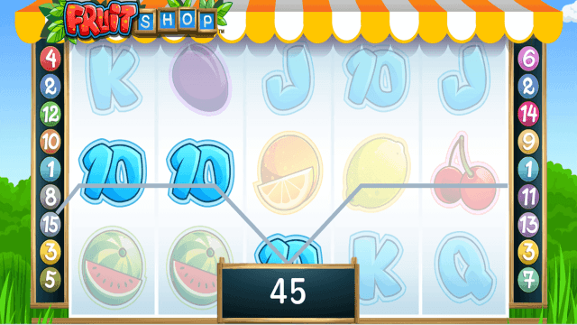 Характеристики слота Fruit Shop 7