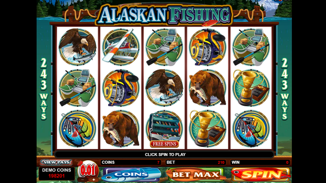 Характеристики слота Alaskan Fishing 3