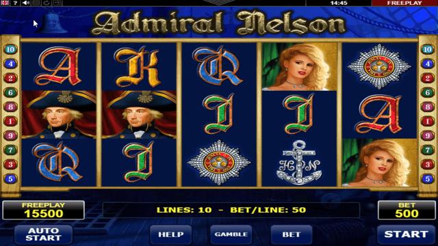 Бонусная игра Admiral Nelson 7