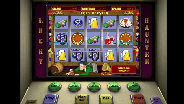 Игровой интерфейс Lucky Haunter 8
