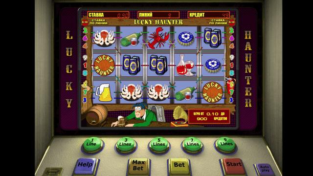 Игровой интерфейс Lucky Haunter 7