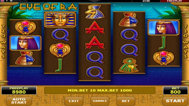 Бонусная игра Eye Of Ra 7