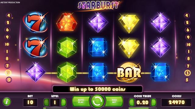 Игровой интерфейс Starburst 3