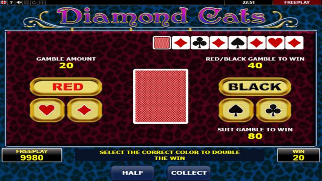 Игровой интерфейс Diamond Cats 4