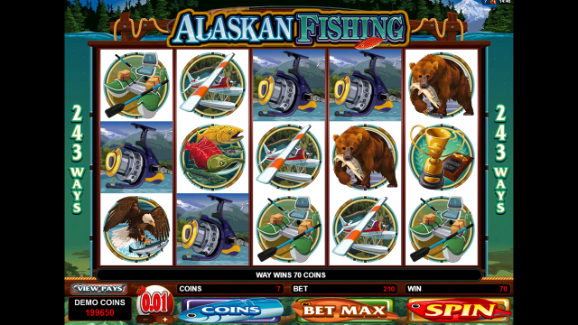 Характеристики слота Alaskan Fishing 9
