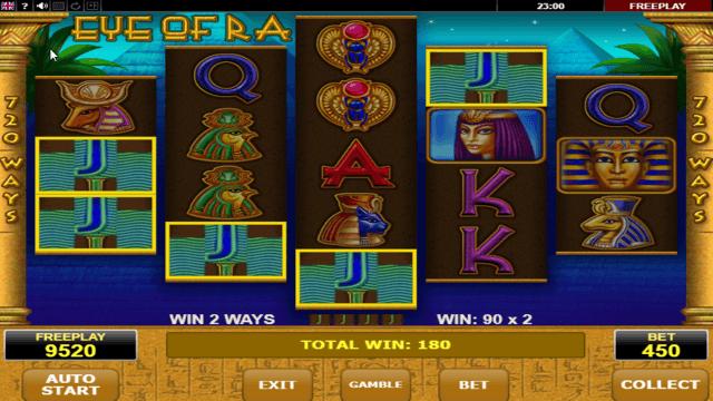 Игровой интерфейс Eye Of Ra 6
