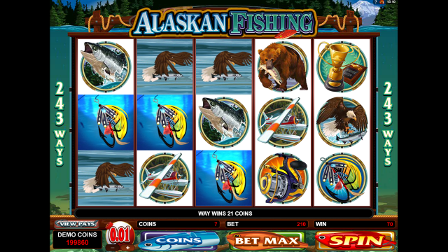 Характеристики слота Alaskan Fishing 10