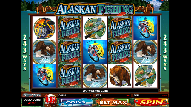 Характеристики слота Alaskan Fishing 7