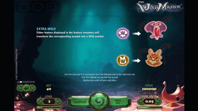 Игровой интерфейс The Wish Master 3