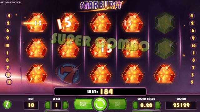 Игровой интерфейс Starburst 4