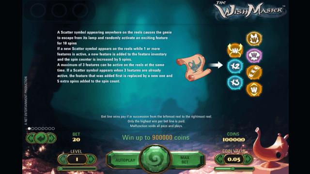 Бонусная игра The Wish Master 2