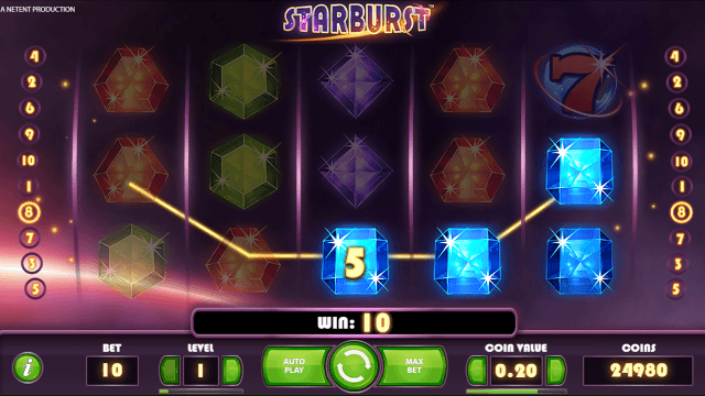 Игровой интерфейс Starburst 2