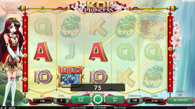 Бонусная игра Koi Princess 10